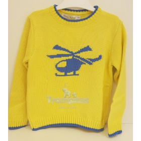 Jersey Helicoptero Amarillo...
