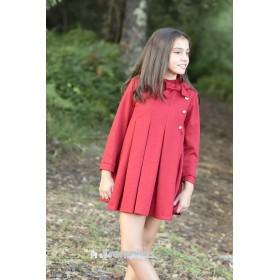 Vestido Rojo Dolce Aela