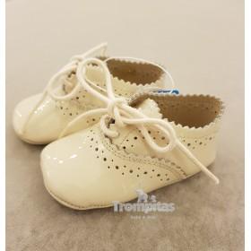 Zapato Stone Cordones Beig