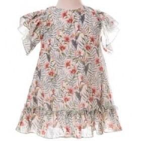 Vestido Estampado Flores...