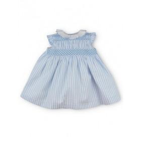 Vestido Smock Esther Azul