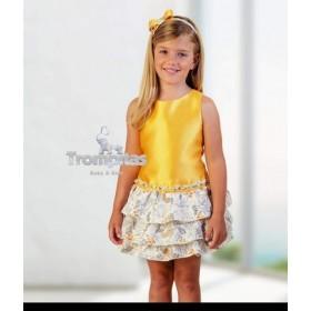 Vestido Corazon Amarillo