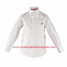 Camisa Blanca Estrellitas...