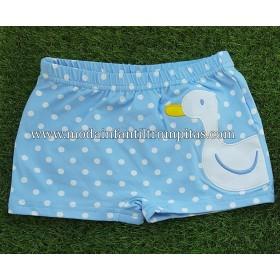 Boxer Baño Pato Azul