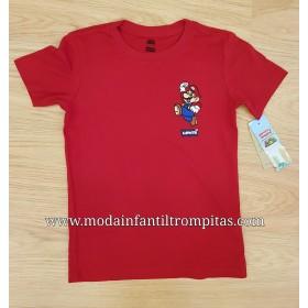 Camiseta Levis Super Mario...