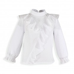 Camisa Plumeti Blanca