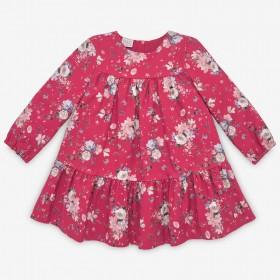 Vestido Floral Cabaña Rojo