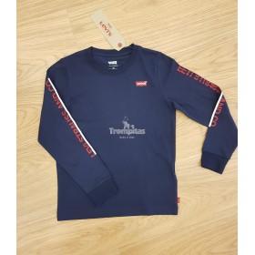Camiseta Puños Levis Marino...