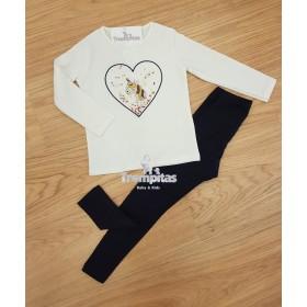 Camiseta Unicornio y Leggings