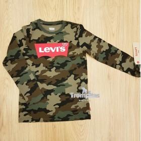 Camiseta Levis Camuflaje...