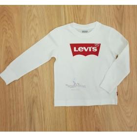 Camiseta Levis Puños Blanca