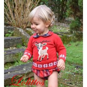 Jubon y Cubre Christmas...