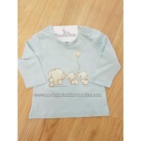 Camiseta Elefantes con Globo