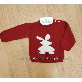 Jersey Conejito Pompon Rojo