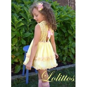 Vestido Miel Lolittos Amarillo
