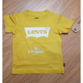 Camiseta Amarilla Levis Blanco