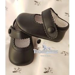 Zapato Napa Marino Velcro