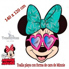 Toalla Cara Minnie