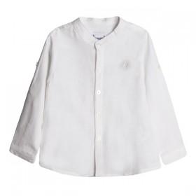 Camisa Mao Lino Bebe Crudo