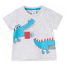 Camiseta Gris Cocodrilo