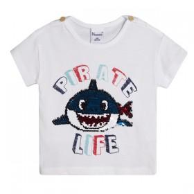Camiseta Tiburon Lentejuelas