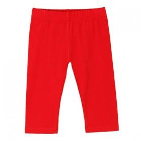 Leggings Basicos Capri Rojo