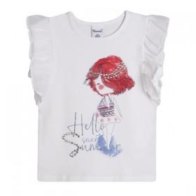 Camiseta y Falda Flores