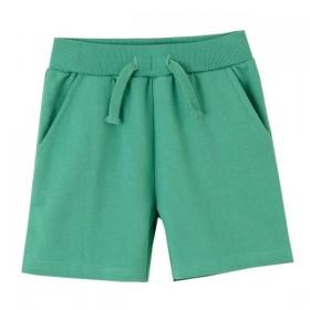 Pantalon Corto Cordones Verde