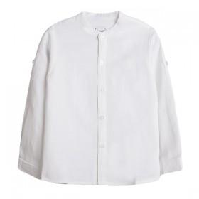 Camisa Mao Lino Blanco