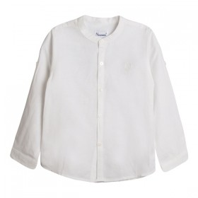 Camisa Mao Lino Crudo