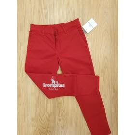 Pantalon Chino Amaretto Rojo