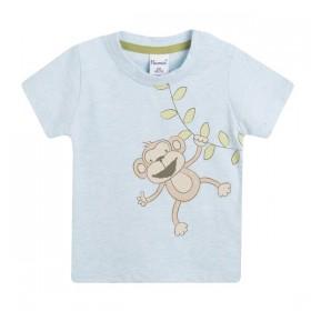 Camiseta Mono Colgando