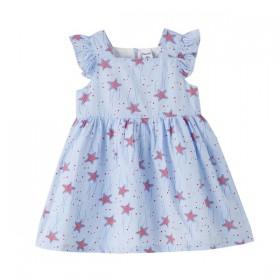 Vestido Azul Estrellas