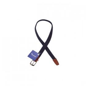 Cinturon Trenzado 75 cm Marino