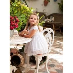 Vestido Plumeti Blanco...