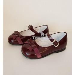 Zapato Charol y Serraje...